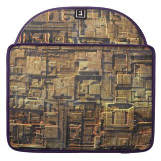 Casco oxidado de Starship Fundas Para Macbooks