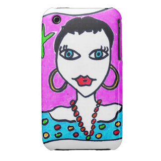 Casco Portable Karine by KrikiSalami iPhone 3 Funda