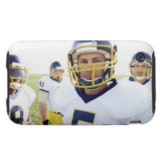 casco que lleva y situación del jugador del rugbi iPhone 3 tough carcasa