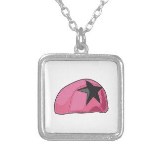 Casco rosado grimpola personalizada
