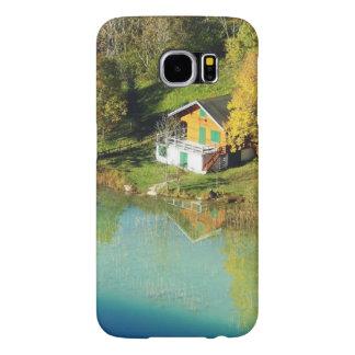 Casco Samsung S6 Galaxy motivo chalet Funda Samsung Galaxy S6