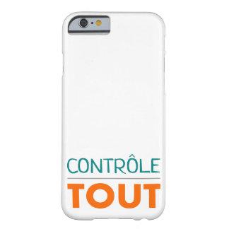 """Casco """"todo está bajo control """" funda barely there iPhone 6"""