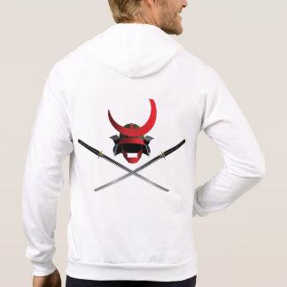 Casco y espadas del samurai sudadera