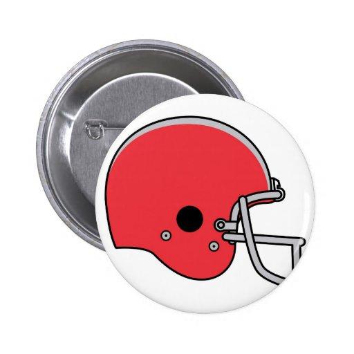 cascos de fútbol americanos pin