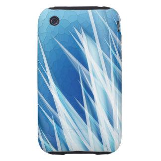 Cascos del cristal de hielo iPhone 3 tough coberturas