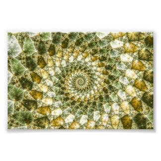Cascos veteados - arte de Mandelbrot Arte Fotografico