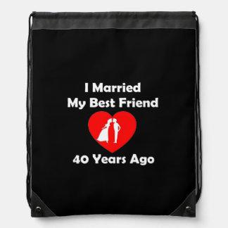Casé a mi mejor amigo hace 40 años mochila