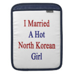 Casé a un chica norcoreano caliente funda para iPads