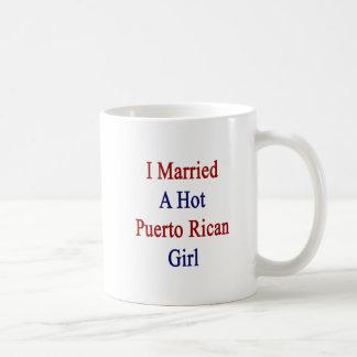 Casé a un chica puertorriqueño caliente taza