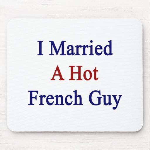 Casé a un individuo francés caliente alfombrilla de ratón