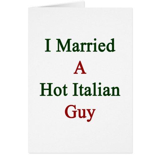 Casé a un individuo italiano caliente tarjeton