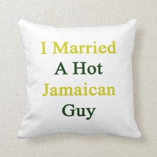Casé a un individuo jamaicano caliente cojines