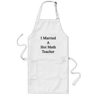 Casé a un profesor de matemáticas caliente delantal