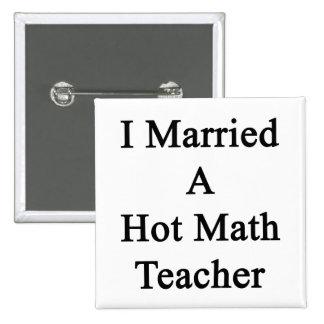 Casé a un profesor de matemáticas caliente pin cuadrado