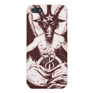 Case Baphomet Old Style Cover For iPhone 5