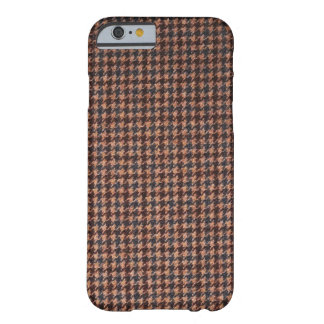 Case: Brown Tweed Fabric Barely There iPhone 6 Case