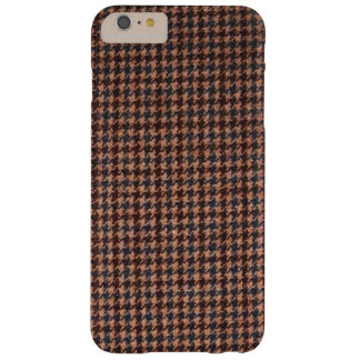 Case: Brown Tweed Fabric Barely There iPhone 6 Plus Case