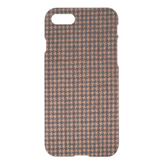 Case: Brown Tweed Fabric iPhone 8/7 Case