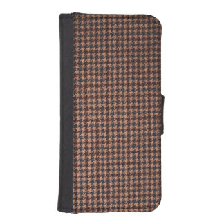 Case: Brown Tweed Fabric iPhone SE/5/5s Wallet Case