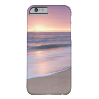 Case: Calm Beach Waves During Sunset Barely There iPhone 6 Case