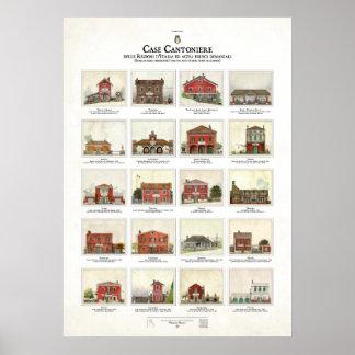 Case Cantoniere delle Regioni d'Italia Poster