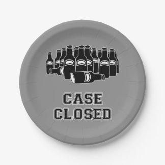 Case Closed 7 Inch Paper Plate