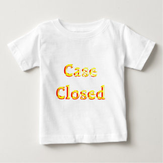 Case-closed-(White) Baby T-Shirt