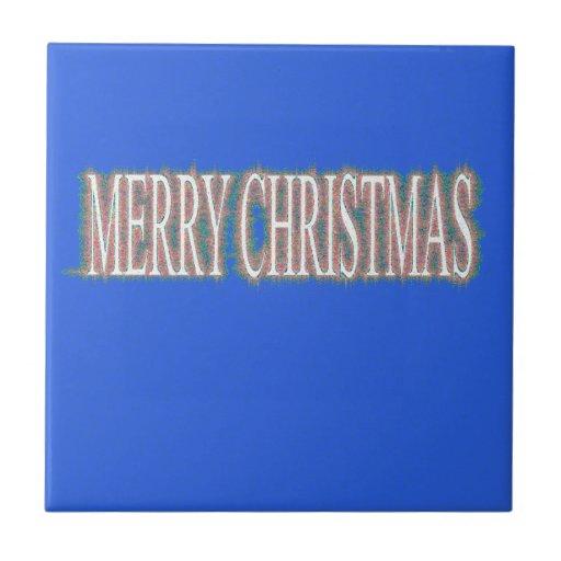 Case el azul de Etnic del navidad Teja Ceramica