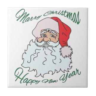 case el christmast azulejo cuadrado pequeño