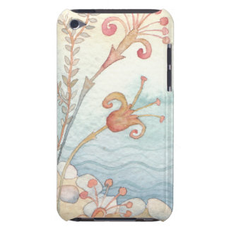 Case  flowers barely there iPod case