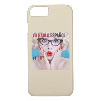 Case for cell phone - yo hablo español