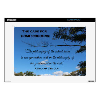 Case for Homeschooling Decal For Laptop