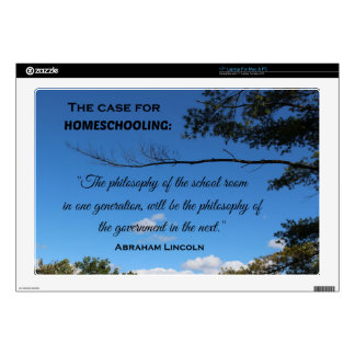 Case for Homeschooling Decals For Laptops