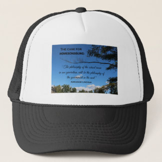Case for Homeschooling Trucker Hat