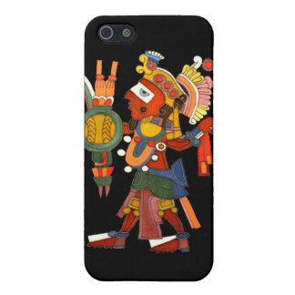Case for iPhone 4/4S with the Mayan indian warrior