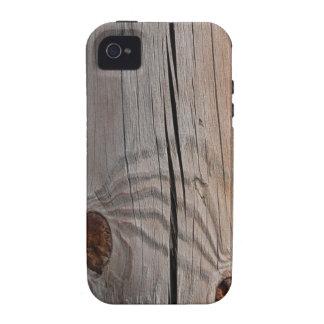 "Case iPHONE4/4S ""LEÑO"" Carcasa Case-Mate Para iPhone 4"