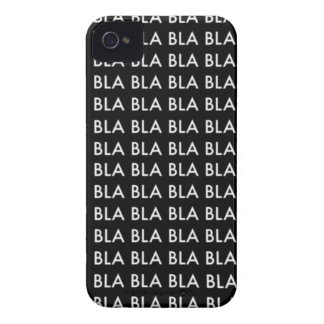 """CASE iPhone 4 4S """"Blah blah blah BLA Case-Mate iPhone 4 Case"""