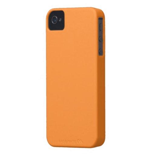 """Case iPHONE 4/4S """"ORANGE"""" Carcasa Para iPhone 4"""