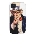 "case iPHONE 4/4S ""UNCLE SAM"" Case-Mate iPhone 4 Carcasa"