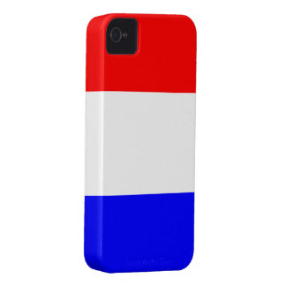 Case iPhone 4 in Rood-Wit-Blauw