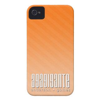 Case iPhone 4G Orange Iphone 4 Capas