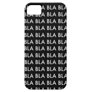 """CASE iPhone 5 """"Blah blah blah BLA """" iPhone 5 Fundas"""