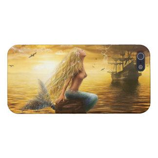 "Case  iPhone 5  ""Mermaid"" iPhone 5 Cover"