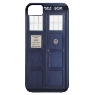 "CASE iPhone 5 ""POLICE BOX "" iPhone 5 Carcasa"