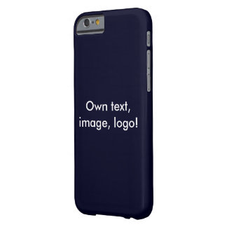 Case iPhone 6 uni Dark Blue