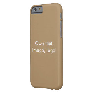 Case iPhone 6 uni Gold