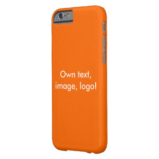 Case iPhone 6 uni Orange