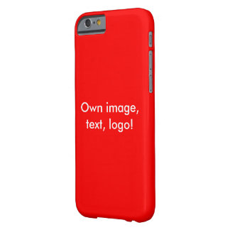 Case iPhone 6 uni Red