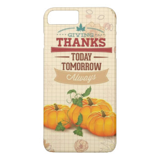Case iphone 7/8 Plus -Thanks Giving