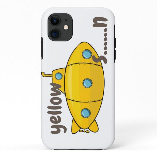 "case iphone ""Yellow submarine"""